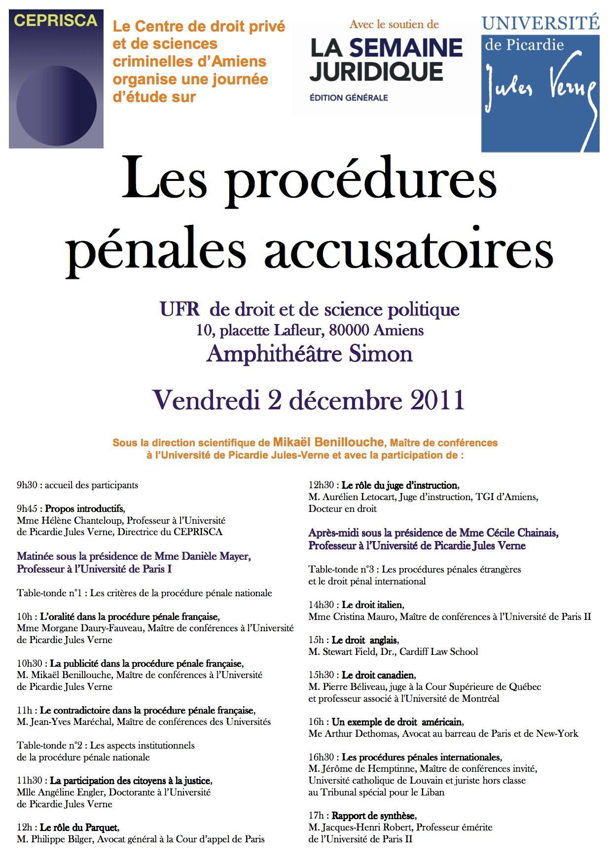 Affiche_CEPRISCA-_procedures_penales_accusatoires_-_2-12-2011