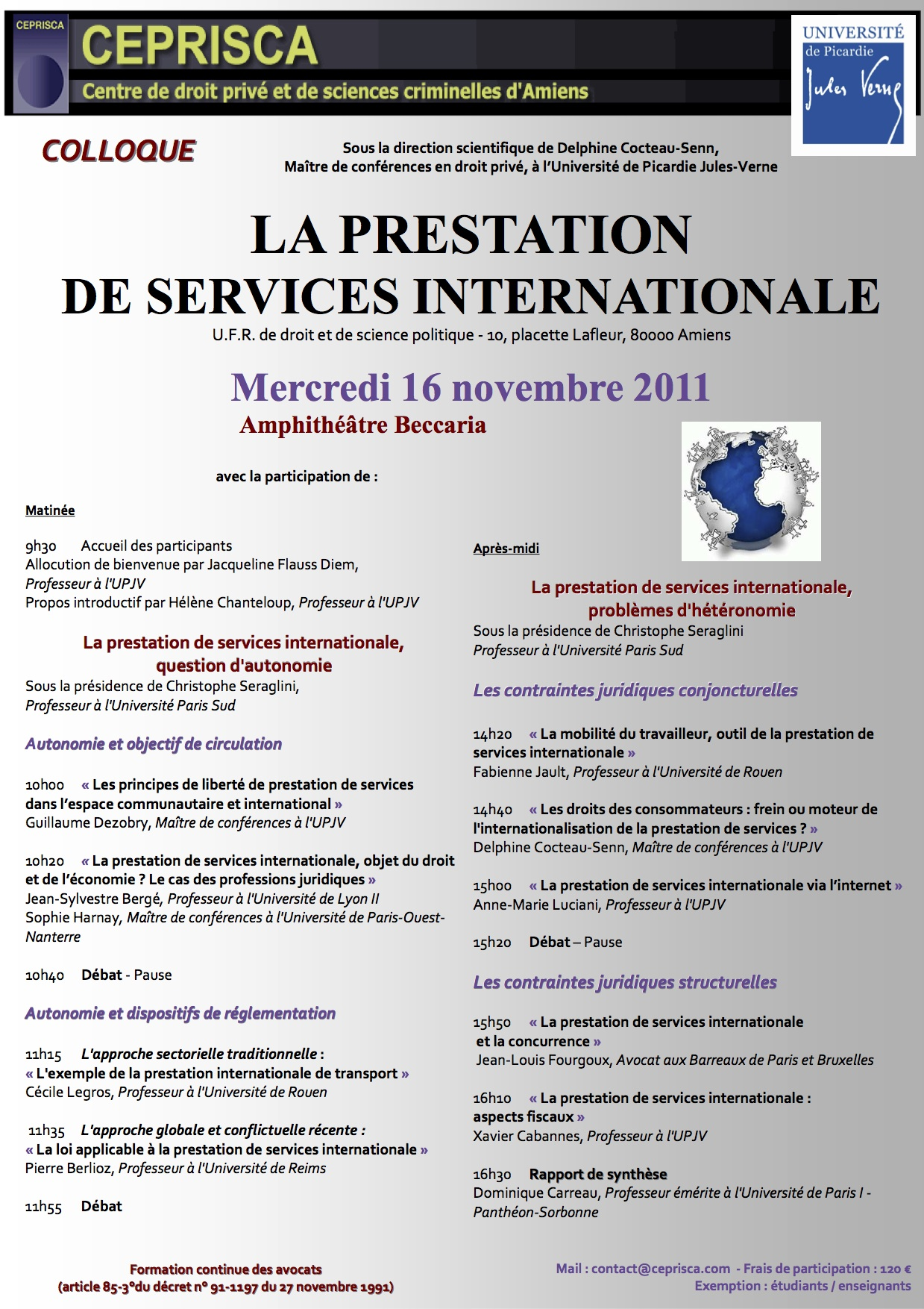 CEPRISCA-_La_Prestation_de_Services_internationale-16_novembre_2011