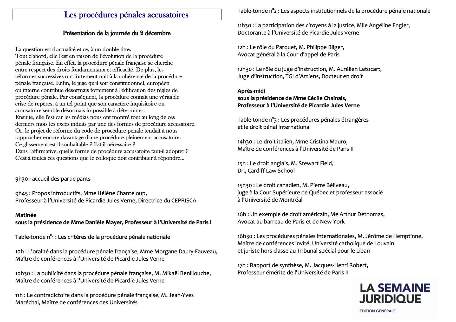 PROGRAMME-_CEPRISCA-_procedures_penales_accusatoires_-_2-12-2011